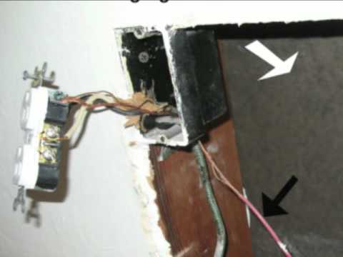 Do-It-Yourself Ground Wire Installation - Building Code Violation ...