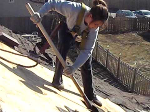 Female Roofer 2 Youtube