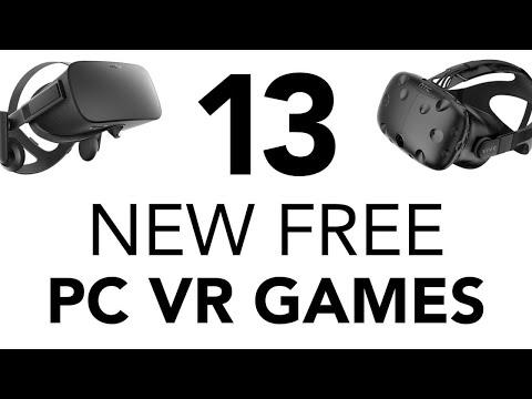 13 Free PC VR Games - July 2019
