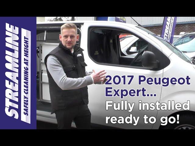 2017 Peugeot Expert - Window Cleaning Van
