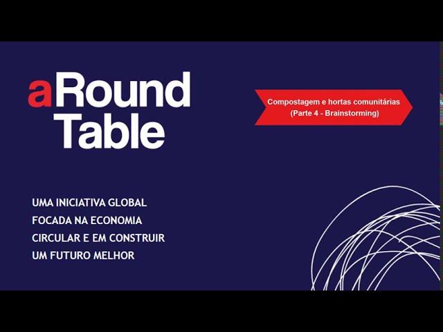 aRound Table 2020 (Parte 4 Brainstorming – Hortas e compostagem comunitária): CEC Almada & Braga