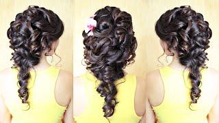 Hairstyle for medium hair - Свадебная причёска на тёмных волосах - Hairstyles by REM(Мои страницы: http://youtube.com/user/rogovaya http://vk.com/lena.rogovaya http://instagram.com/lenaragavaya http://facebook.com/rogovaya.lena ..., 2014-11-29T09:38:49.000Z)