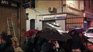 Drame de la rue d'Aubagne à Marseille : une centaine de personnes rendent hommage aux victimes
