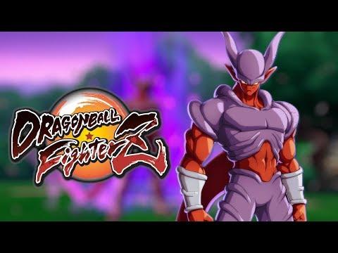 JANEMBA GAMEPLAY   Dragon Ball FighterZ