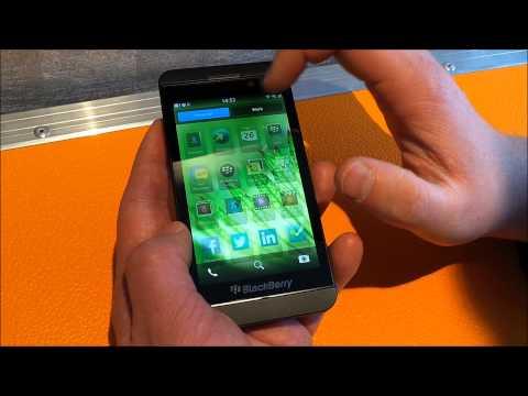 BlackBerry OS 10 - krótka prezentacja systemu