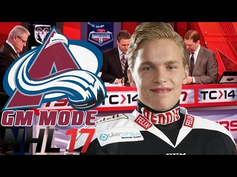 JUMBO TRADE - NHL 17 - GM Mode Commentary - Colorado ep. 17