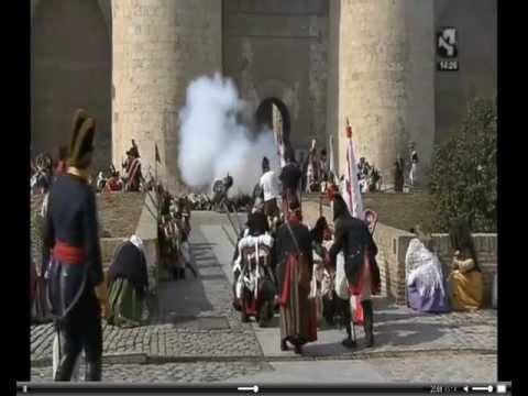 II Recreación de la Batalla de Zaragoza 1813-2013 Domingo Aljafería