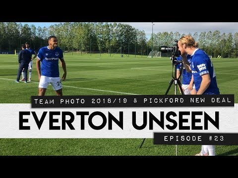 EVERTON UNSEEN #23: TEAM PHOTO & PICKFORD NEW DEAL