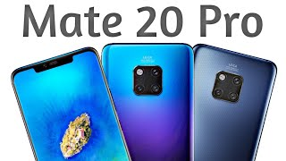 Huawei Mate 20 Pro LIVE Hands-on & Official Pictures LEAKED!!!!