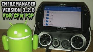 CMFileManager v3.2.0 UPDATE For PSP! Android File Browser!