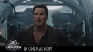 Watch #JurassicWorld #FallenKingdom in cinemas now!