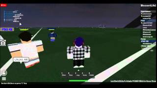 Video of IINeymarJrII and kotsiog1 Admin Abusin on Roblox: Psg Home pitch