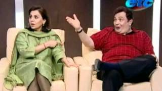 Komal Nahta with Neetu Singh & Rishi Kapoor_Part 1