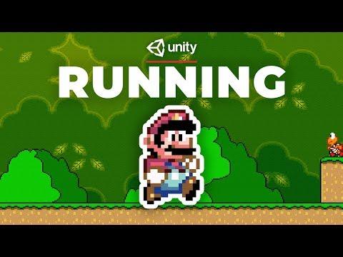 Super Mario - Running Tutorial in Unity