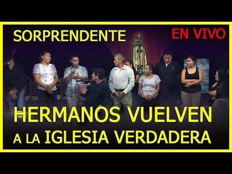 SORPRENDENTE HERMANOS VUELVEN A LA IGLESIA LUEGO DE PREGUNTAS Y RESPUESTAS en el SALVADOR