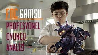 FNC Gamsu - Rammus Üst Koridor   Profesyonel Oyuncu Analizi
