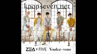[MP3/DL] ZE:A Five - The Day We Broke Up (헤어지던 날) [1th Mini Album Voulez-vous]