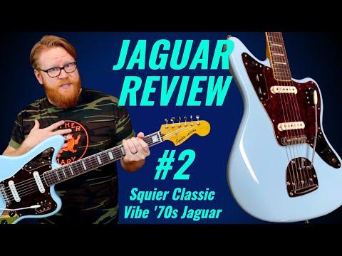 JAGUAR REVIEW 2: Squier Classic Vibe &39;70s Jaguar! An Affordable Offset Guitar?