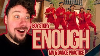 Mikey Reacts to BOY STORY 'Enough' M/V and Dance Practice
