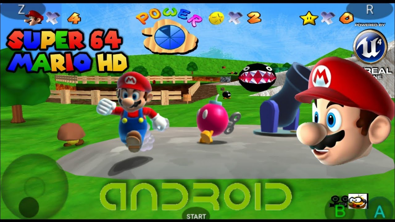 Super Mario 64 Android Download - diginew