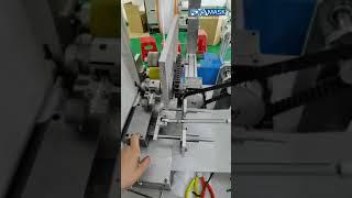 마스크 제작 기계에 기계를 삽입하는 코 코어 브리지 바…