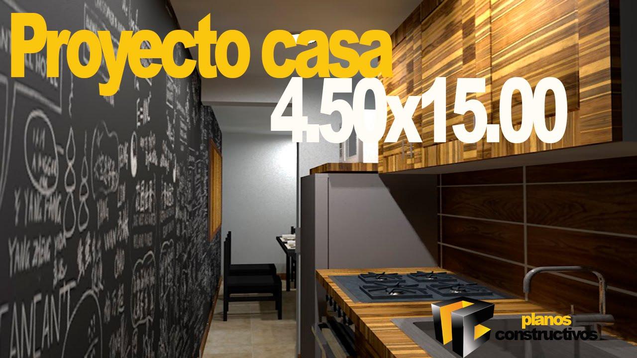 Casa 8 youtube for Casa minimalista 4 5x15