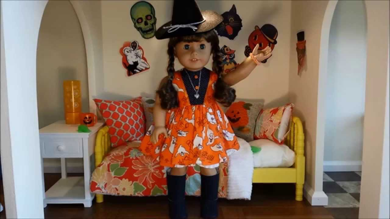 My Dolloween American Girl Doll Costumes for 2014 Halloween - YouTube