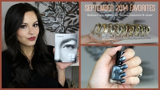 September 2014 Favorites | Sedona Lace, byAlegory, Gerard Cosmetics & More! Thumbnail