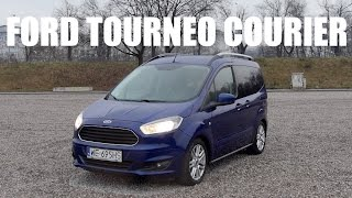 (ENG) Ford Tourneo (Transit) Courier 1.0 EcoBoost - Test Drive and Review