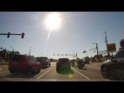 Driving Through Cocoa, Florida