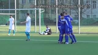 SV Blau Weiss Berlin - Friedenauer TSC ( Landesliga Berlin, Staffel 2) - Spielszenen | SPREEKICK.TV