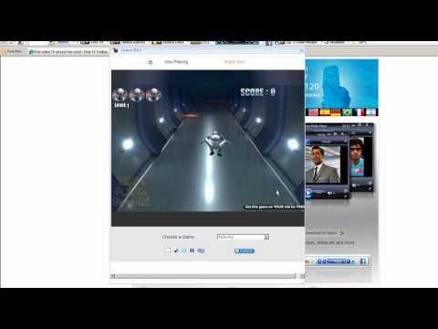 Free online TV around the world - Free TV Toolbar