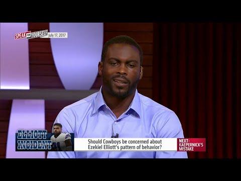 Should Cowboys be concerned about Ezekiel Elliott's behavior? | SPEAK FOR YOURSELF
