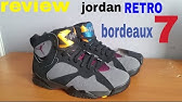 f7b537aa2ae5d8 Jordan 7 VII Bin 23 REPLICA review - YouTube