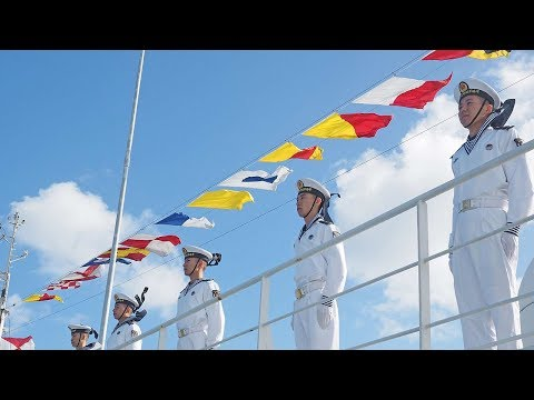 Chinese naval hospital ship visits Tonga for medical service