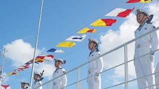 Chinese naval hospital ship visits Tonga for medical service