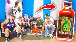 2Hype PACK AND PAIN - Extreme Hot Wings Sauce! NBA 2K19
