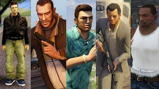 TOP 10 GRAND THEFT AUTO Protagonists Ranked WORST to BEST!