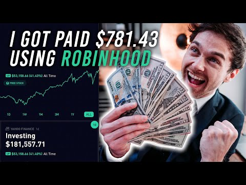 I Got PAID $781.47 with ROBINHOOD DIVIDENDS in March