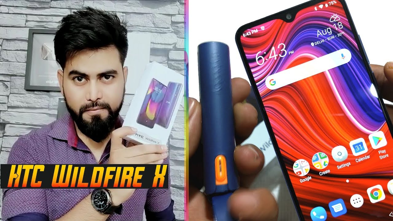 HTC Wildfire X with MyBuddy | First Look, Unboxing and Review in HINDI
