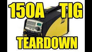 TIG Welder Teardown. ESAB TIG Caddy 1500i