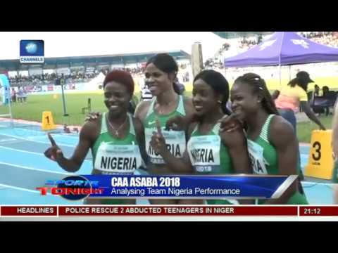 Nigeria Storm To Gold In CAA Asaba 2018 Pt 1 | Sports Tonigh