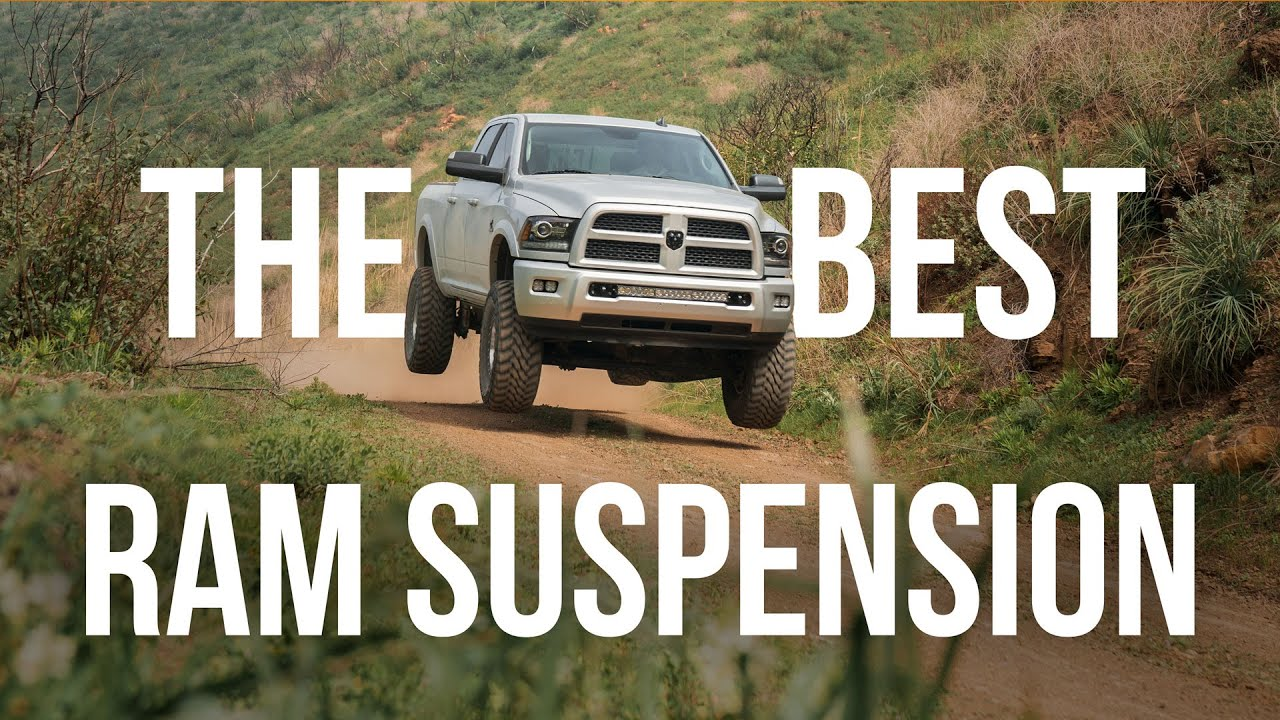 The Best Ram Suspension: Carli Suspension 2014+ Ram Dominator System
