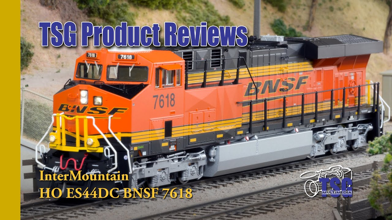ho scale bnsf es44dc gevo intermountain product review. Black Bedroom Furniture Sets. Home Design Ideas