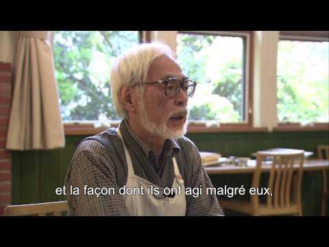 Le Vent se Lève - Making of : Interview Miyazaki VOST