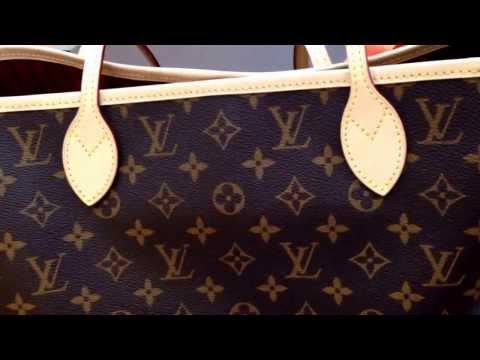 Обзор сумки Louis Vuitton Neverfull mm