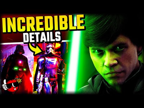 10 UNIQUE Details You Missed - Star Wars Battlefront 2 |