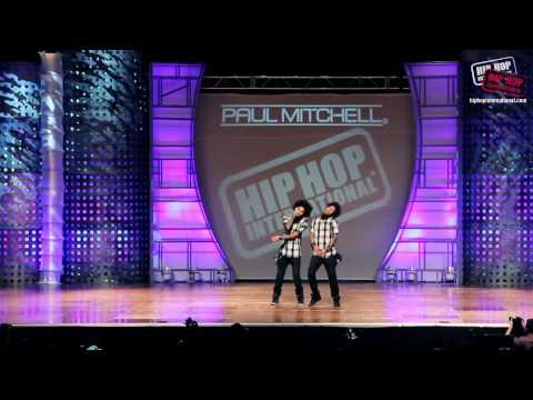 Les Twins - France  2013 World Hip Hop Dance Championship