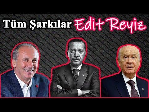 Recep Tayyip Erdoğan ve Muharrem İnce Gülmekten Kopartan Bütün Şarkıları (Edit R