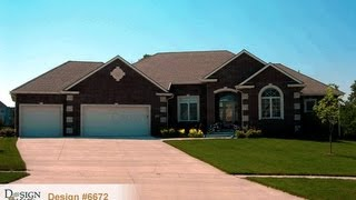 Design #6672 The Bayberry Traditional Styled 1-story House Plan From Design Basics Home Plans